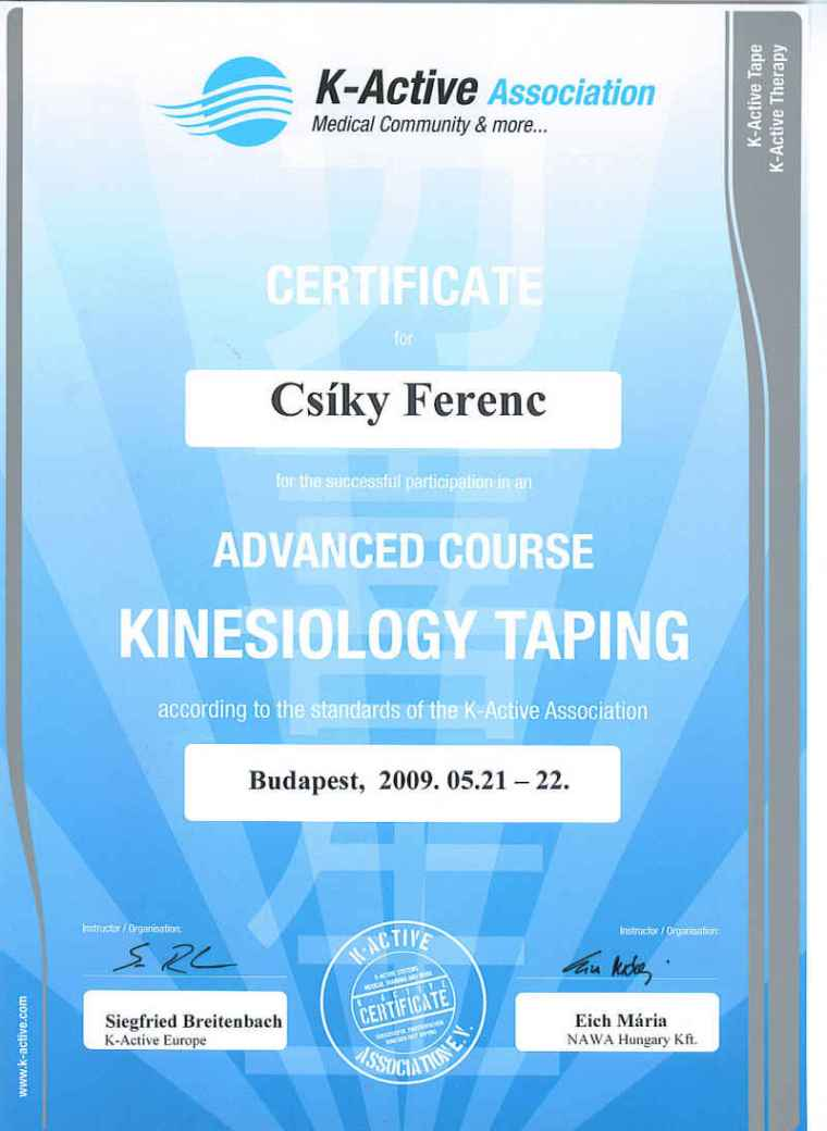 Kinesiology Taping - Advanced